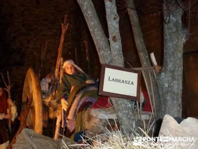 Senderismo Sierra Norte Madrid - Belén Viviente de Buitrago; sendero del medio